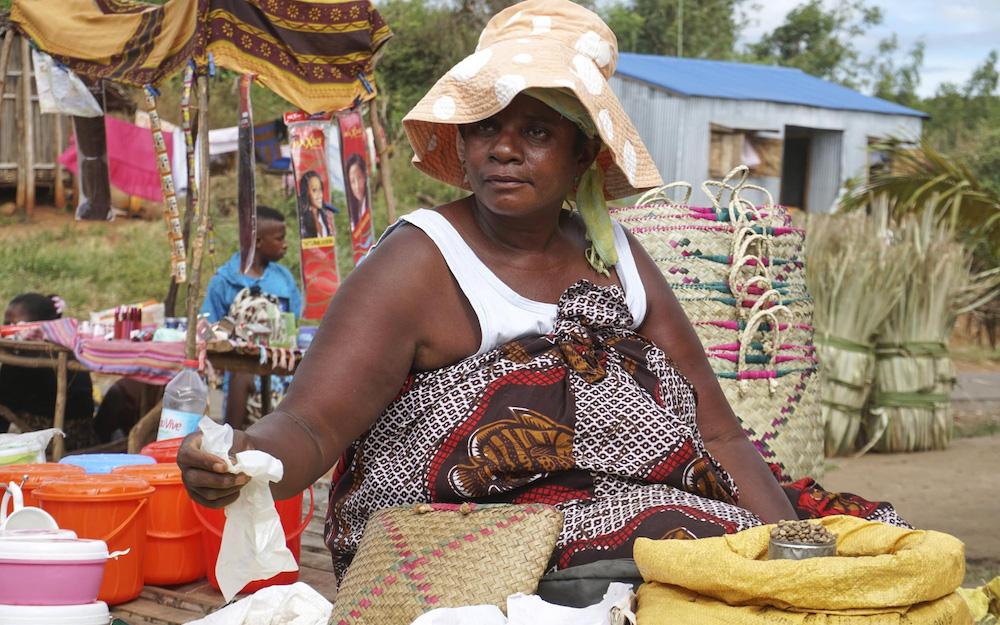 madagascan coffee vendor