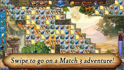 Runefall - Medieval Match 3 Adventure Quest android2mod screenshots 2