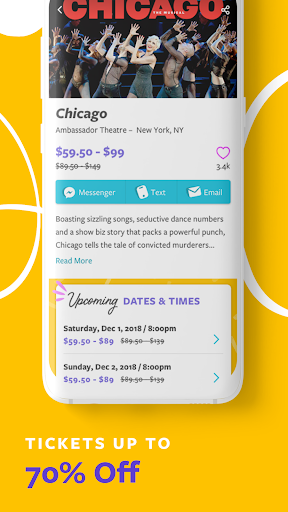 Goldstar - Buy Tickets androidhappy screenshots 2