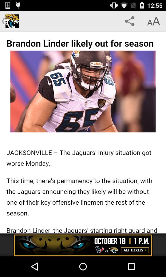 Jacksonville Jaguars- screenshot