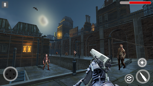 zombie hunter 3d: zombie apocalypse zombie jeu  captures d'écran 1