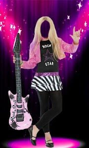 Rockstar Girl Photo Suit screenshot 3