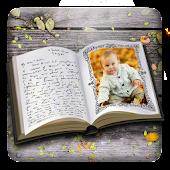 Libro cornice per foto