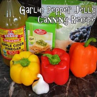 Garlic Pepper Jelly Canning.