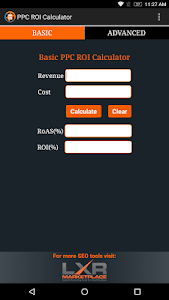 PPC ROI Calculator screenshot 2