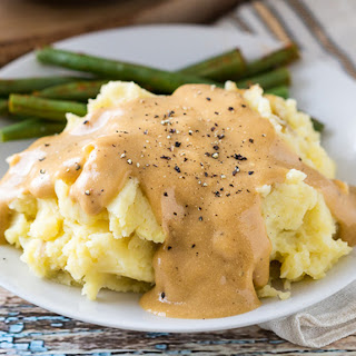 Heather's Mashed Potatoes & Gravy.