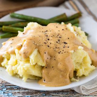 Heather's Mashed Potatoes & Gravy.