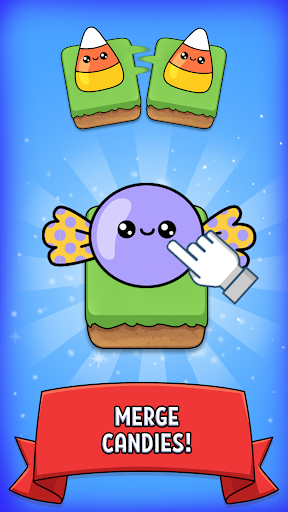 Merge Candy - Kawaii Idle Evolution Clicker Game 1.03 {cheat|hack|gameplay|apk mod|resources generator} 3