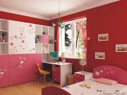 女の子のベッドルームのアイデア