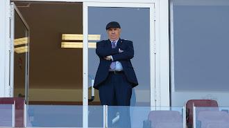 Alfonso García mirando al futuro.