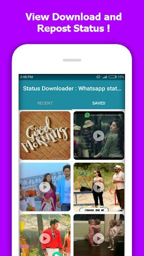Status Downloader : Whatsapp status video download  screenshots 5