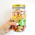 Chicken Lunch Jar