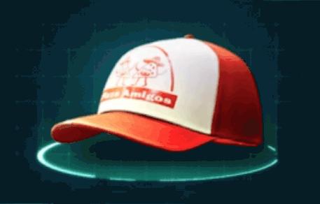 ピザ配達の帽子