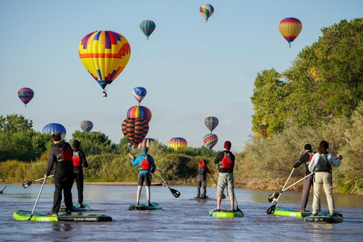 Get on board: Stand-up paddleboarding offers another way to hit the water in New Mexico