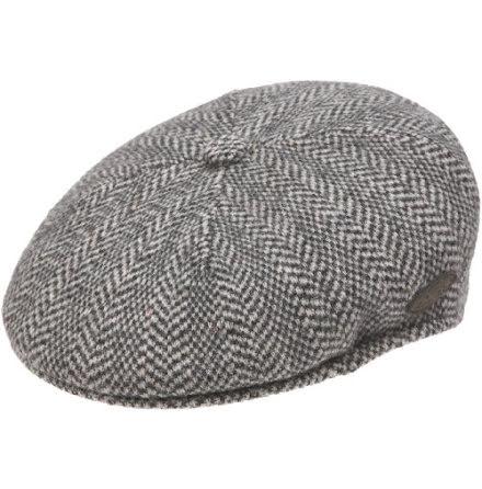 504 Herringbone cap, grå