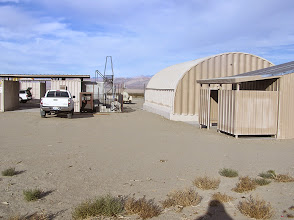 Photo: The main building is the quonset hut on the right.