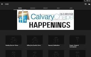 Screenshot of Calvary Chapel Old Bridge