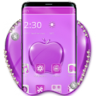 Purple Crystal Apple Mobile Theme icon