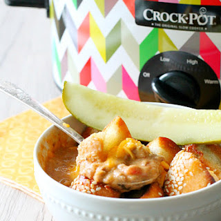 Slow Cooker Cheeseburger Soup.