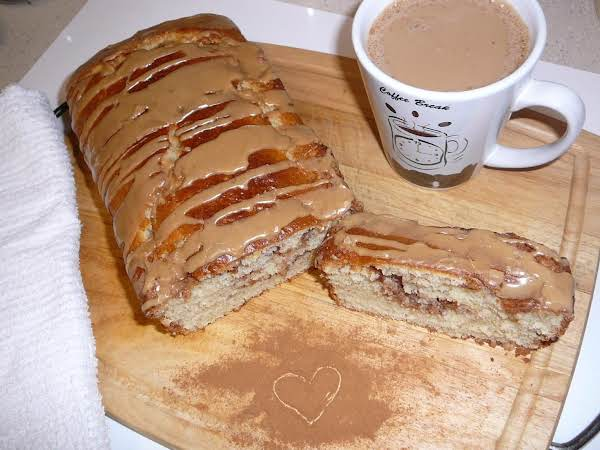 This Bread Tastes Like A Cinnamon Roll Without All The Work..