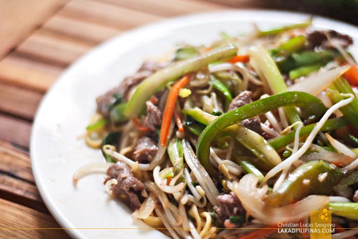 Beef Fried Noodles Hanoi Vietnam