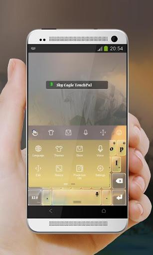 無料个人化Appのスカイイーグル TouchPal|記事Game
