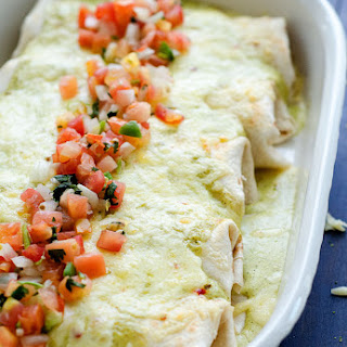 Smothered Chicken Burritos.