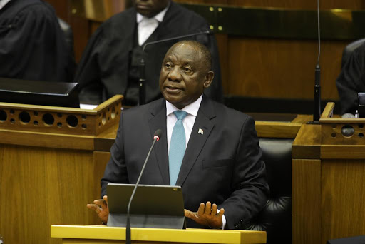 'I'm sorry,' says Ramaphosa to Malema after wife-abuse claim in parliament