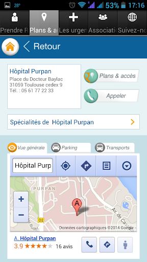CHU de Toulouse screenshot 3