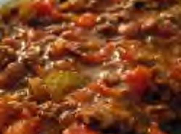 Touchdown Chili Recipe