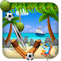 Coconut Shooting Game - Knock Down icon