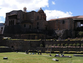 Photo: One of the Monastaries in Cusco