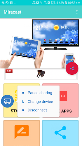 Download Miracast APK latest version app by AppMobrilDeveloper for