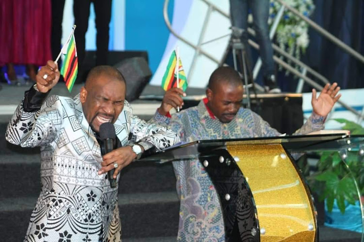 Image result for images of chamisa kneeling and praying