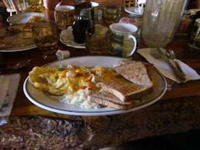 Photo: I ordered omelet. I don't how many eggs it is.