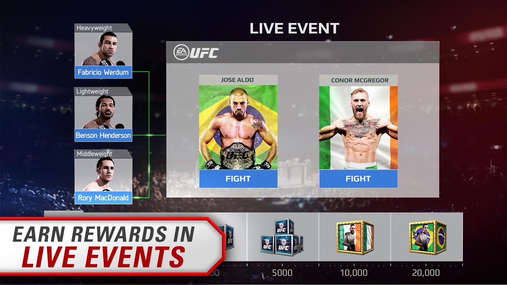 EA SPORTS UFC® screenshot #3