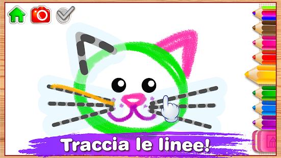 giochi per bambini disegni da colorare on line