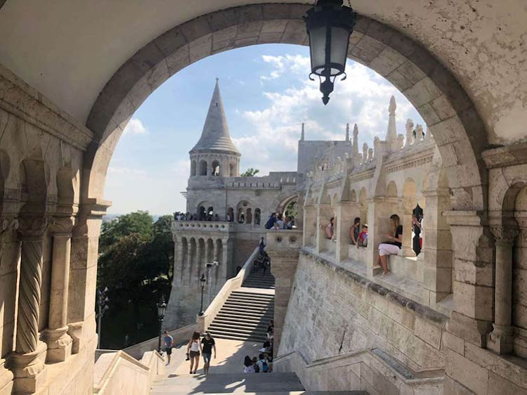 Fisherman's Bastion: a must-see on your walking tour.