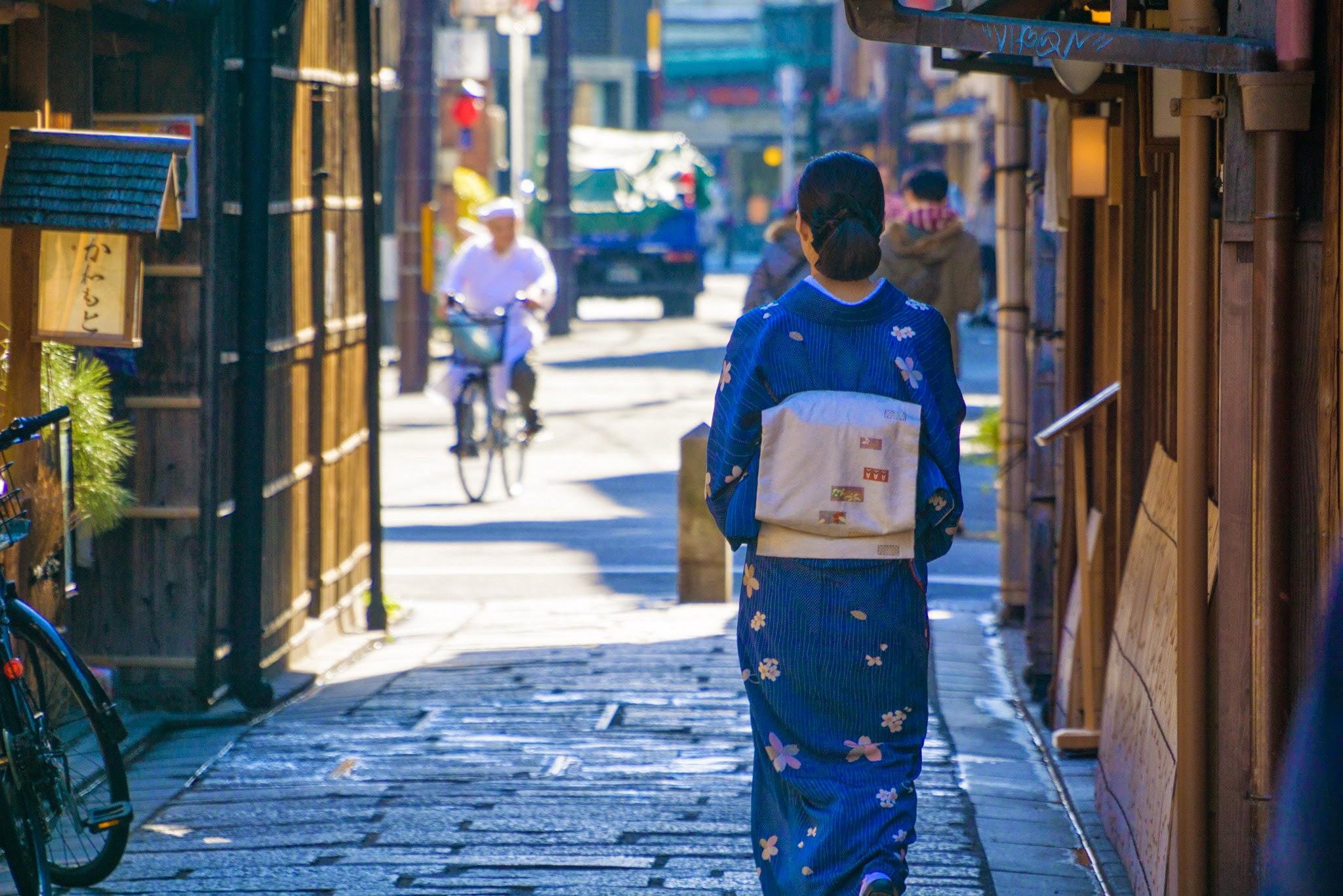 京都 祇園 和服1