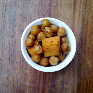 Balsamic Vinegar and Sea Salt Chickpea and Sweet Potato Salad Recipe