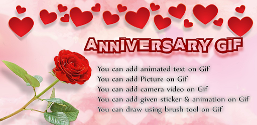 Wedding anniversary wishes with add name and picture option