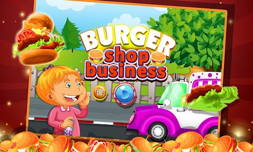 Burger Shop Business - náhled