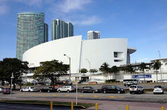 Photo: American Airlines Arena - Miami Heatin koripallojoukkueen kotiareena