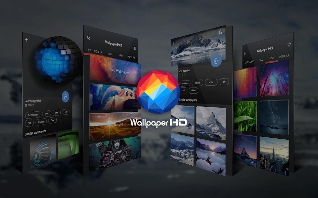Backgrounds (HD Wallpapers) screenshots