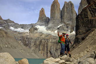 Photo: Las Torres! Today's round trip was 8 hours, 12 miles, and 820 meters climbed
