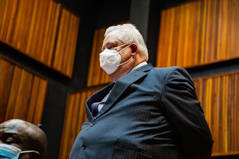Angelo Agrizzi spends another day in hospital