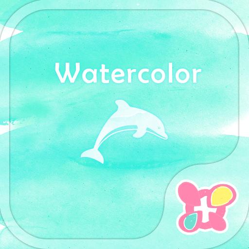 オシャレ壁紙・アイコン-WATERCOLOR-無料きせかえ 個人化 App LOGO-硬是要APP