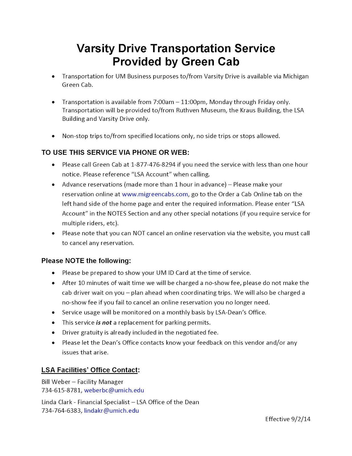 Varsity Drive Transportation - Green Cab.jpg