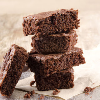 Hungry Girl's Peanut Butter Brownies.