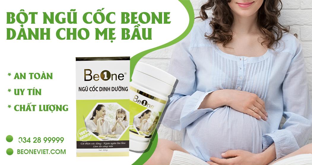 BeOne - ngũ cốc uy tín dành cho mẹ bầu